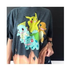 pokémon • bleached graphic t-shirt